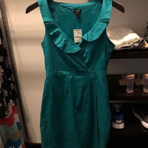 J. Crew dress with ruffle details - new with tags!